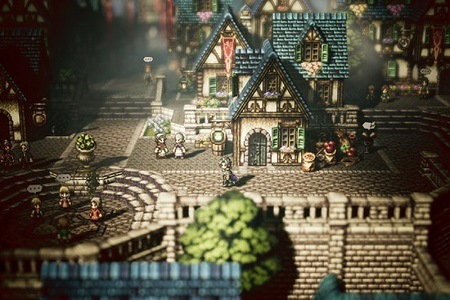 Octopath Traveler Menu