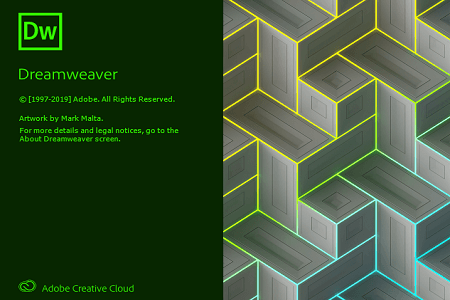 Adobe Dreamweaver 2020 Menu