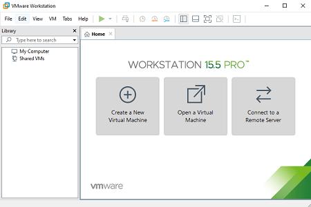 Vmware 15.5.2 Menu