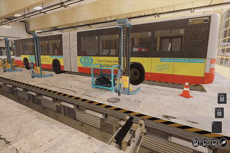Bus Mechanic Simulator Menu