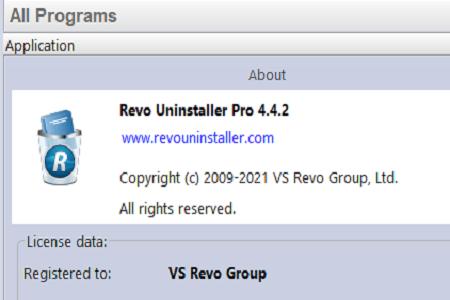 Revo 4.4.2